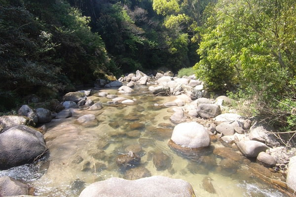 川の水が綺麗な那珂川